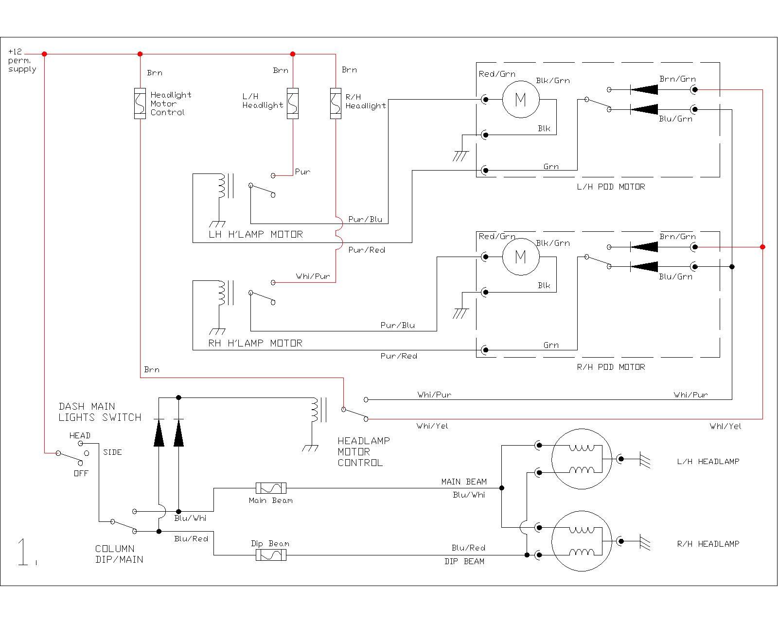 tvr 390se p6 2003 ford e450 headlight wiring diagram tr7 headlight wiring diagram #6